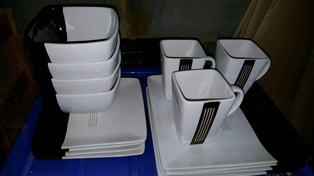 Oriental ceramic dinning set
