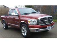 2007 56 DODGE RAM 1500 *HEMI*(USA)5.7CC PICKUP PART EX WELCOME*24 HOUR INSURANCE*WARRANTY*