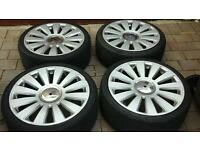 Selection of 5x112 alloys to fit vw audi seat skoda mercedes