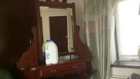 Beautiful old mirror art deco