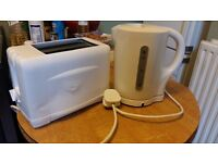 Argos Kettle and Toaster