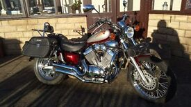 YAMAHA VIRAGO XV 535 (A2) EXCELLENT CONDITION & LOADED WITH EXTRAS...