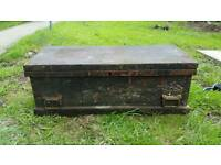 Vintage Wood Workers Tool Box