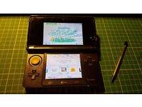 Nintendo 3DS Console - Boxed/used- Great condition - no screen scratches - Cosmo Black