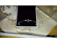 Authentic Pandora bracelet and charm
