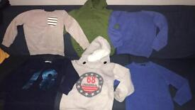 Boys bundle Age 5 next h and m etc jumpers