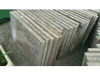 GARDEN SLABS x37 Heavy duty! 90x60cm. Delivery available.