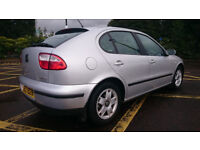 2000 SEAT LEON 1.8 20v SE with .FULL MOT