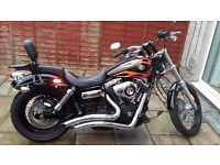 Harley davidson wide glide mint with extras