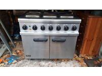 Lincat commercial 3 phase cooker