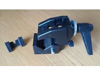 Manfrotto clamp with stud