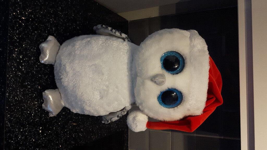 Ty Beanie Boos Tinsel - Snowy Owl (Large)  4fa41f6cad04