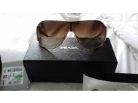 Parada unisex sunglasses with original packaging and receipt