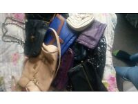 Handbags 50p each