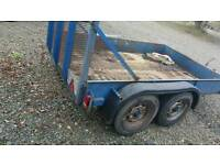 Twin axle trailer 9x6