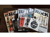Classic Rock Magazine 2014 July to Dec with various CDs from 2012 to 2014