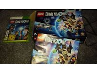 Lego Dimensions Starter Pack (for Xbox 360) and games