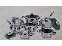 Stainless Steel Pot Set - New