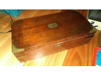 Antique portable writing desk