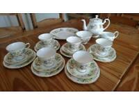 Colclough 'Hedgerow' Bone China Tea Set