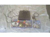 Ps4 mini 500g 4 games and in perfect working condition.