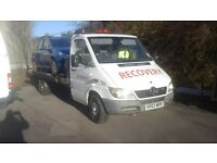 Very nice clean 17ft recovery truck no vat