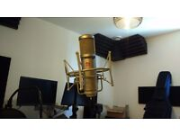 Se 2200a Condenser Microphone With Cage and stand
