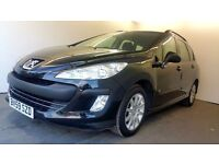 2009   Peugeot 308 SW 1.6 HDI   Manual   Diesel   2 Former Keepers   6 Months MOT   HPI Clear  