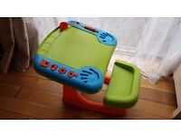 Kids toddler activity creativity table desk draw play doh sit'n'draw