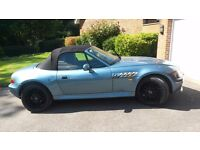 BMW Z3 Wide Body 2.8 with under 55,000 miles Excellent condition