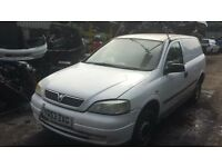 2003 Vauxhall astra envoy dti 1.7l car derived van heavy oil BREAKING FOR SPARES