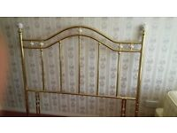 Victorian Brass Head Board - double bed
