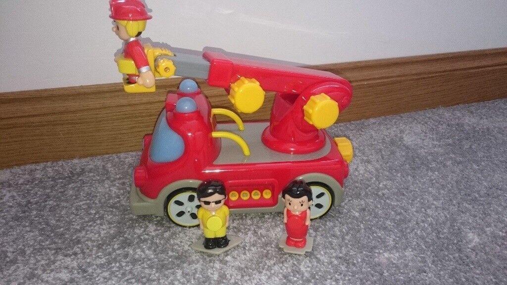 Fire Engine, Siren Sounds, Magnetic Figures, John Lewis