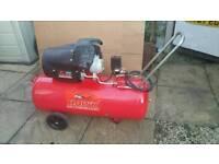 100L Air Compressor HAWK