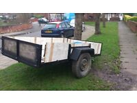 Trailer/builders trailer/farm trailer/ could be converted into motorbike trailer