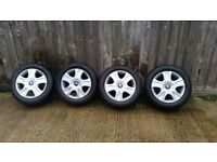 Ford galaxy alloy wheels 16 with tyres