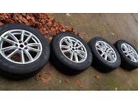 "4x 19"" Range Rover alloy wheels 235/65R19 tyres - Land Rover Discovery"