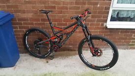 Devinci Spartan Carbon Full Sram Eagle build MINT !!