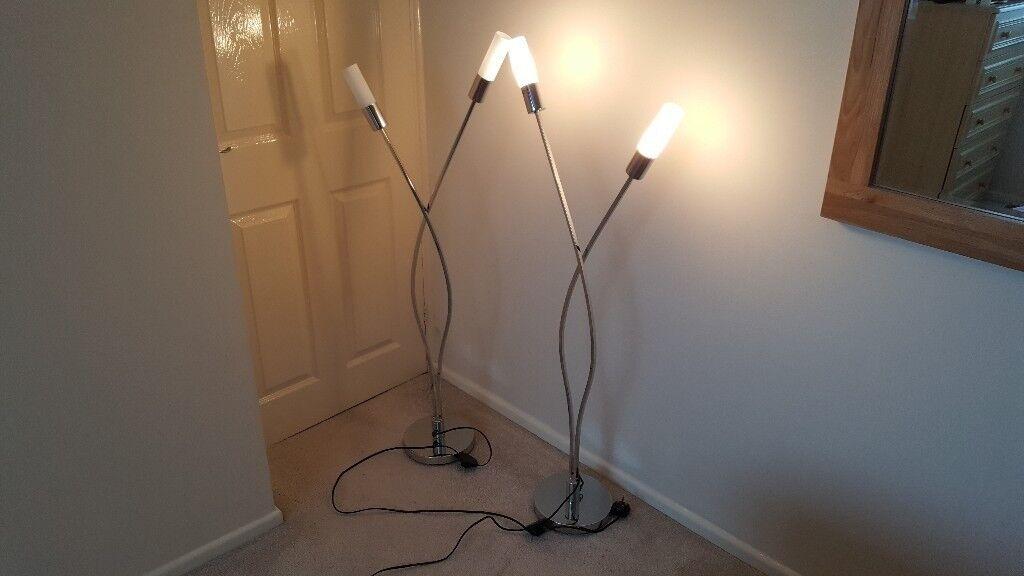 Next Barcelona Floor Lamps X2 In Binley West Midlands Gumtree