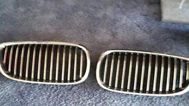bmw 3 series chrome grills make good xmas present