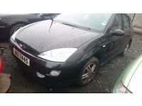 FORD FOCUS 2002, 1.6 PETROL, BREAKING FOR PARTS ONLY, POSTAGE AVAILABLE NATIONWIDE