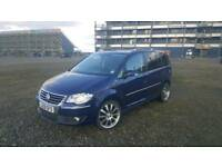 Stunning VW Touran 2.0 TDI SPORT 140BHP HIGHLINE / TOP SPECS / Fully loaded