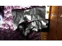 *new* river island real leather boots