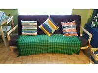 Sofa double bed futon