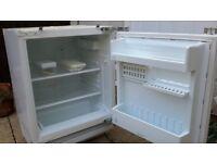 Indesit built in larder fridge. Hardly used, works perfectly.