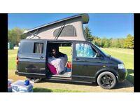 VW T5 Camper with pop top