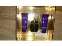 MUGLER - Alien Refillable Eau de Parfum Spray 30ml, Body Lotion 50ml & Shower Gel 50ml for Women