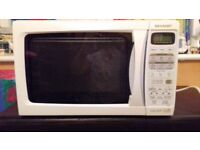 Microwave oven dual grill