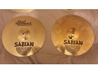 Sabian HH Hand Hammered Regular Hats 14""