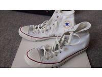 Coverse All Star Hi-Tops Size 10 - Like New!